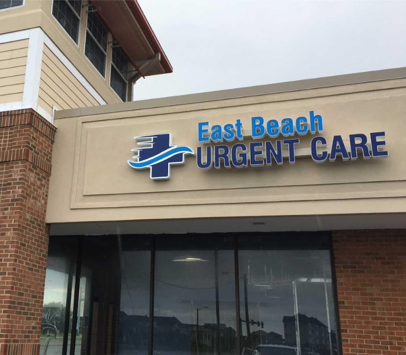 east beach urgent enterance