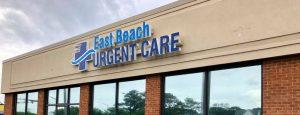 East Beach Urgent Care building